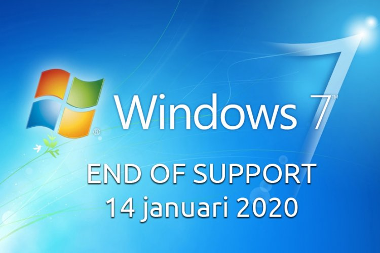 Begin 2020 eindigen de updates voor Windows 7