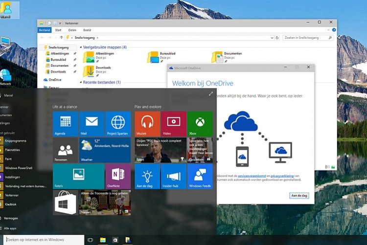 Nieuwste telg van Microsoft integreert Metro tegels in het startmenu