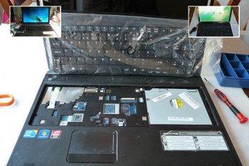 Reparatie van Acer laptop die gedekt is door schade verzekering